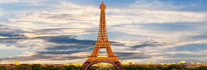 les lieux les plus touristiques à Paris
