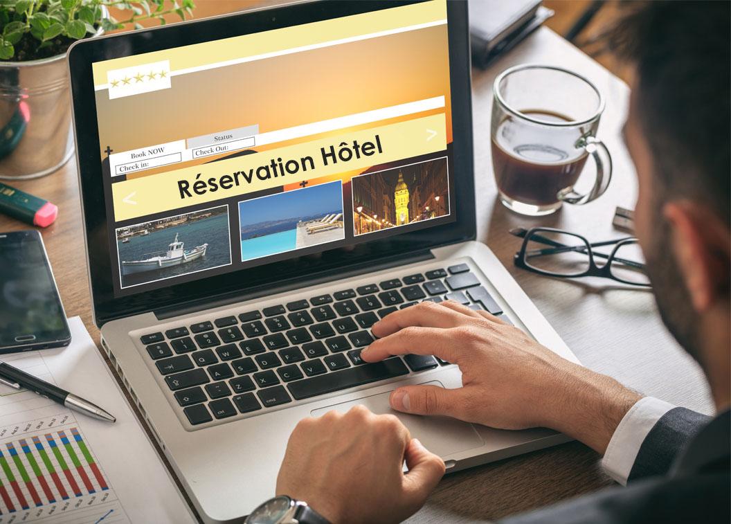 La réservation d'hôtel en ligne
